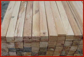 barrotes de madera
