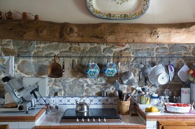 barra cocina concreto